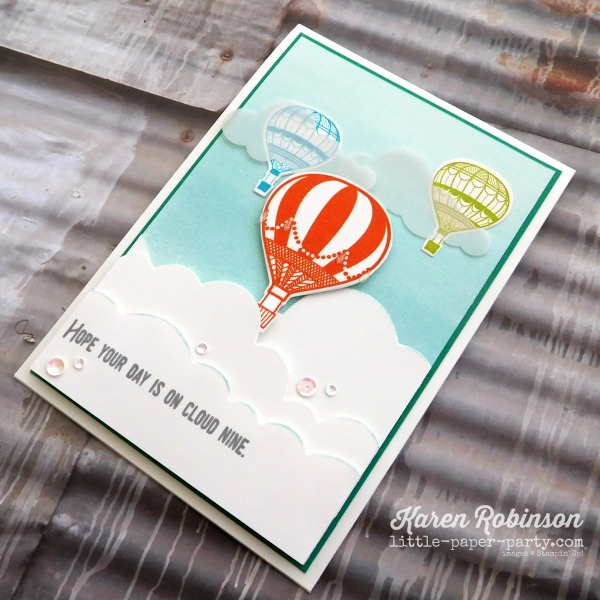 Little Paper Party, Lift Me Up, Up & Away Thinlits, Rainbow Builder Framelits, #3