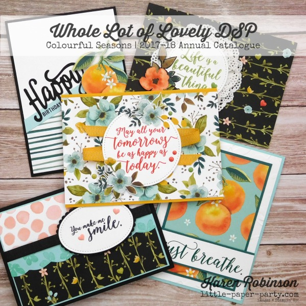 Little Paper Party, Whole Lot of Lovely DSP, Colourful Seasons, #1