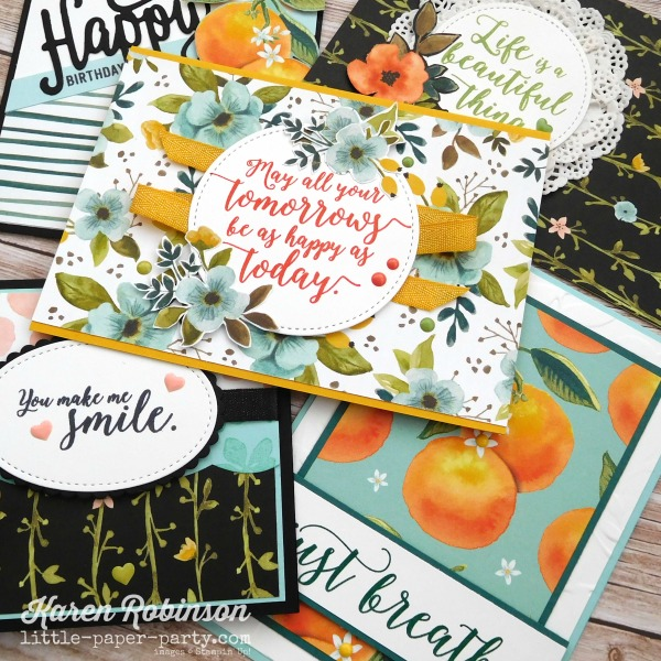 Little Paper Party, Whole Lot of Lovely DSP, Colourful Seasons, #3