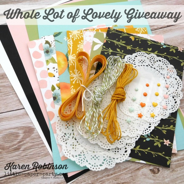 Little Paper Party, Whole Lot of Lovely DSP, Colourful Seasons, #4