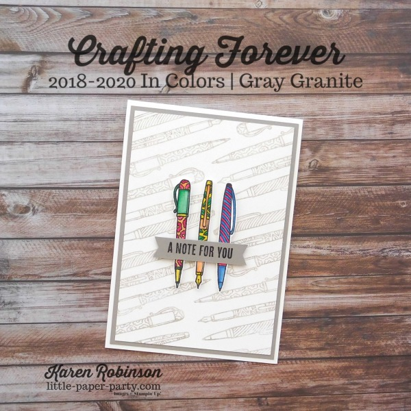 Little Paper Party, Crafting Forever, 2018-2020 In Colors, #1