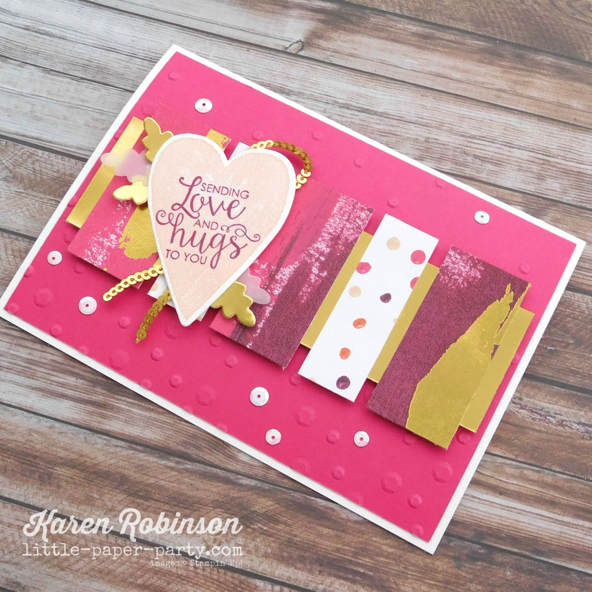 Little paper Party, Sure Do Love You Bundle, Painted With Love DSP, Ribbon of Courage, #3.jpg