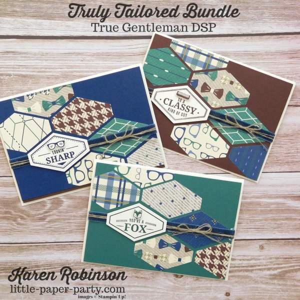 Little Paper Party, Truly Tailored Bundle, True Gentleman DSP, #1