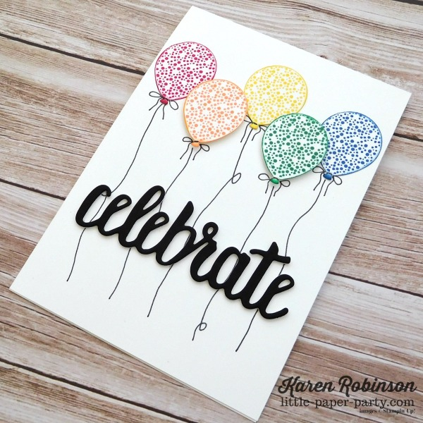 Little Paper Party, 2018-2020 In Colors, Celebrate You Thinlits, Happy Birthday Gorgeous, #3