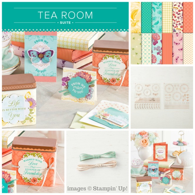 Tea Room Suite Collage