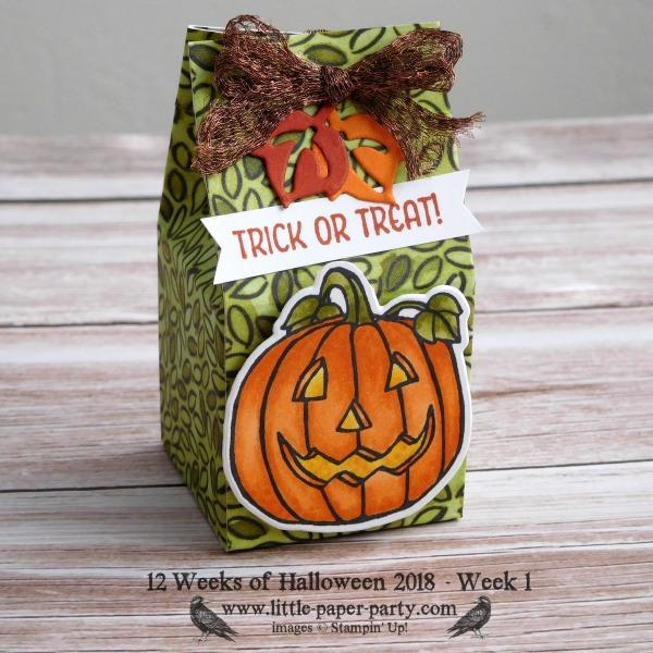 Little Paper Party, 12 Weeks of Halloween 2018, Seasonal Chums, Seasonal Tags Framelits, #2