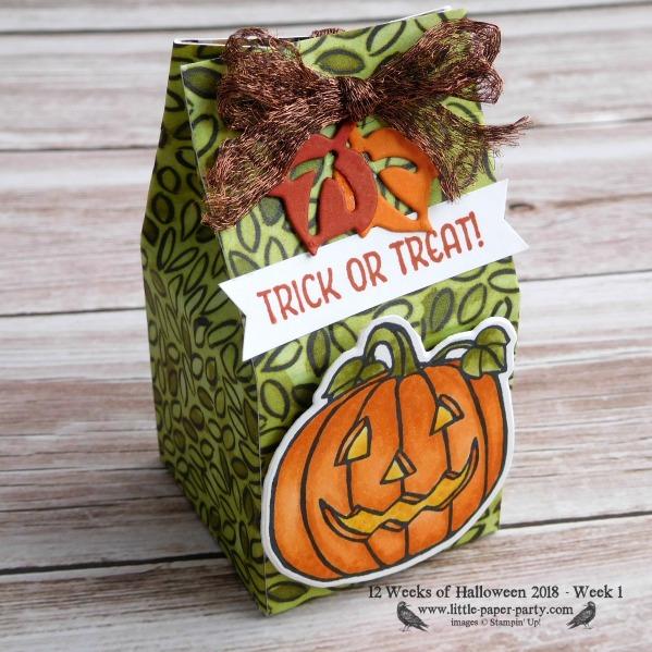 Little Paper Party, 12 Weeks of Halloween 2018, Seasonal Chums, Seasonal Tags Framelits, #3
