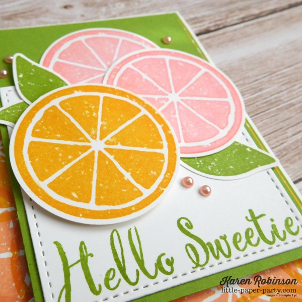 Little Paper Party, Lemon Zest, Make A Difference, #2
