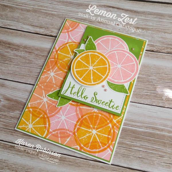 Little Paper Party, Lemon Zest, Make A Difference, #3.jpg