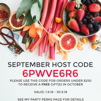 Host Code September 2018