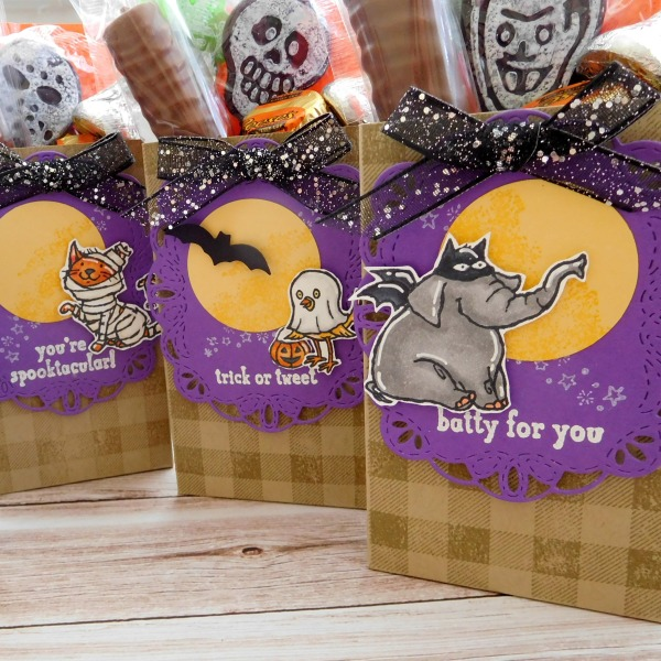 Little Paper Party, 12 Weeks of Halloween 2018, Buffalo Check, Trick or Tweet, #5