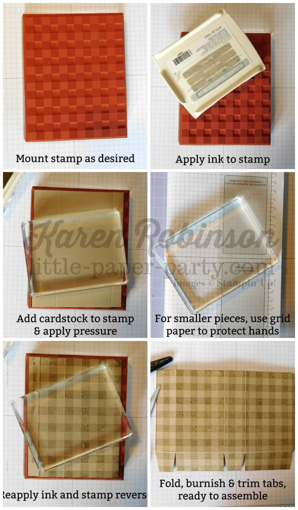 Little Paper Party, Background stamp tutorial, #7
