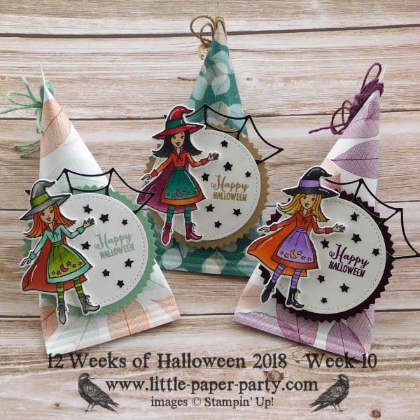 Little Paper Party, 12 Weeks of Halloween 2018, Cauldron Bubble Bundle, Nature's Poem DSP, #1