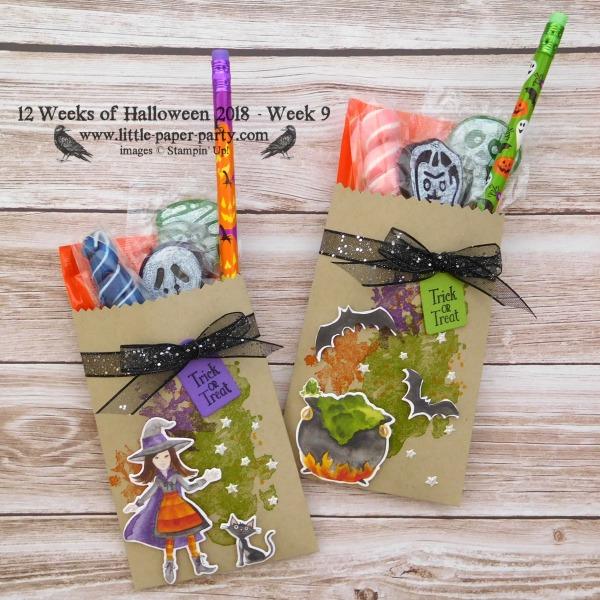 Little Paper Party, 12 Weeks of Halloween 2018, Cauldron Framelits, Beautiful Blizzard, #1
