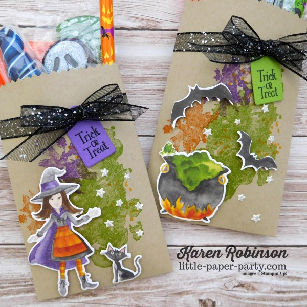 Little Paper Party, 12 Weeks of Halloween 2018, Cauldron Framelits, Beautiful Blizzard, #3