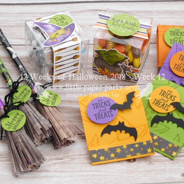 Little Paper Party, 12 Weeks of Halloween 2018, Spooky Sweets Bundle, Cauldron Bubble Bundle, Toil & Trouble DSP, #2