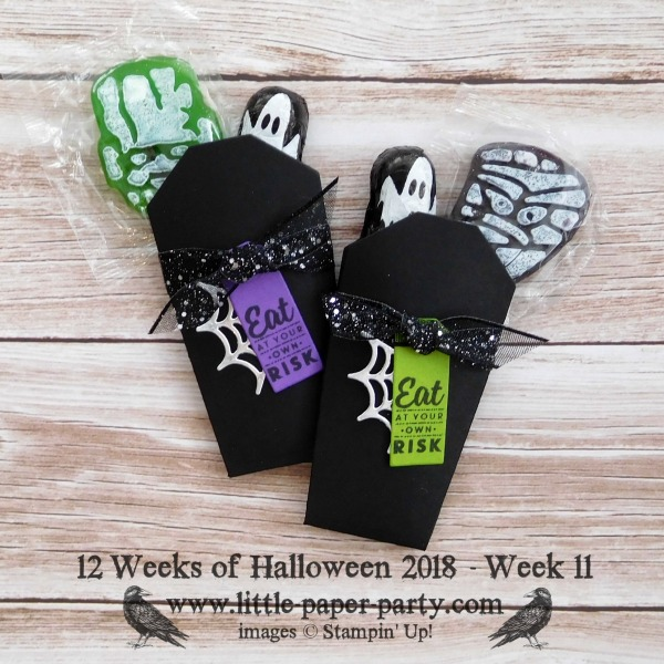 Little Paper Party, 12 Weeks of Halloween 2018, Takeout Treats Bundle, #1