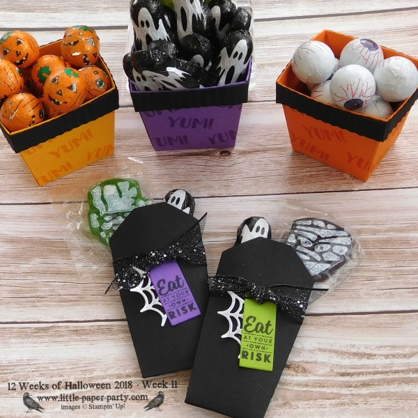 Little Paper Party, 12 Weeks of Halloween 2018, Takeout Treats Bundle, #6
