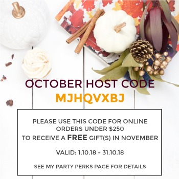 October Host Code 2018