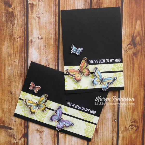 Little Paper Party, Butterfly Gala Bundle, Botanical Butterfly DSP, CTS#310, 1
