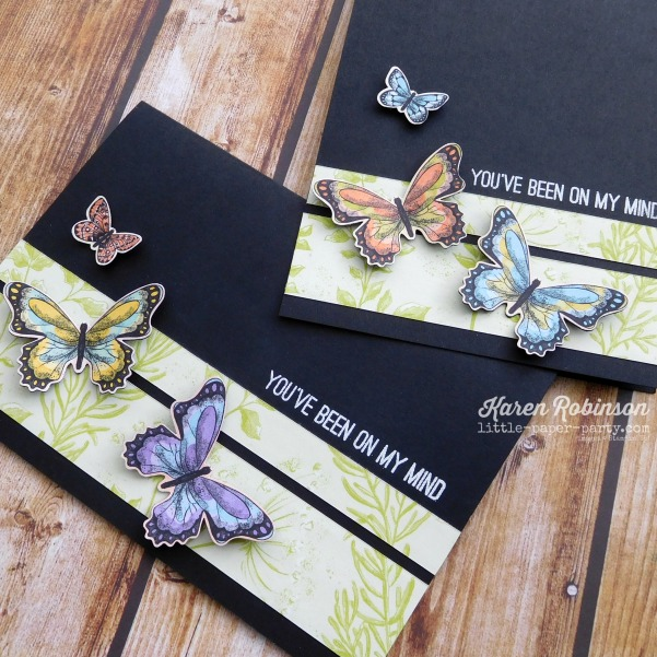 Little Paper Party, Butterfly Gala Bundle, Botanical Butterfly DSP, CTS#310, 3