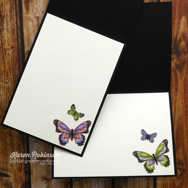 Little Paper Party, Butterfly Gala Bundle, Botanical Butterfly DSP, CTS#310, 4