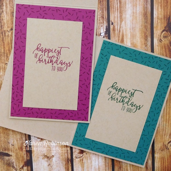 Little Paper Party, #simplestamping, Picture Perfect Birthday,2