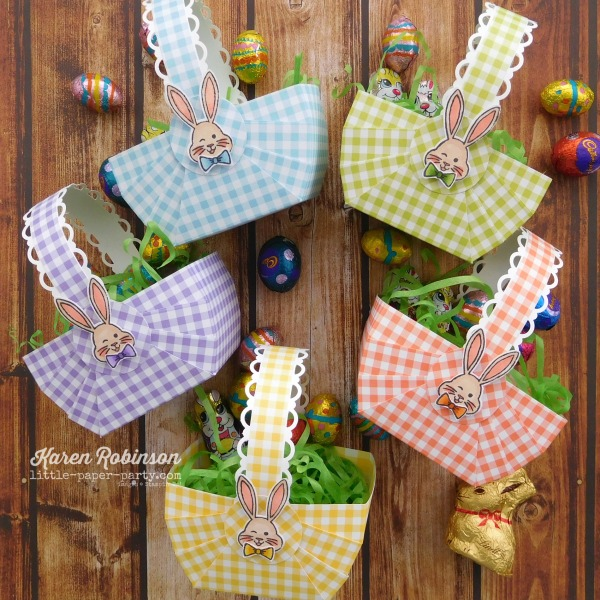 Little Paper Party, Bunny Hop 2019 #4, Best Bunny Bundle, Gingham Gala DSP 1