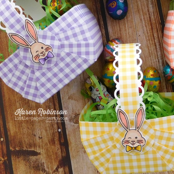 Little Paper Party, Bunny Hop 2019 #4, Best Bunny Bundle, Gingham Gala DSP 5