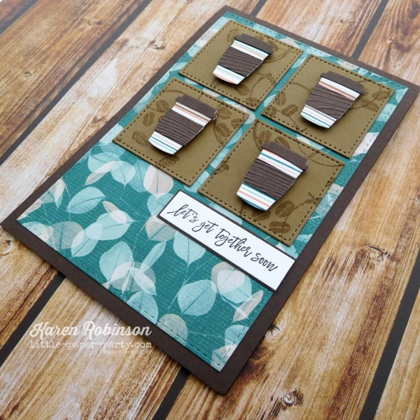 Little Paper Party, Coffee Cup Framelits, Love You To Pieces, 2