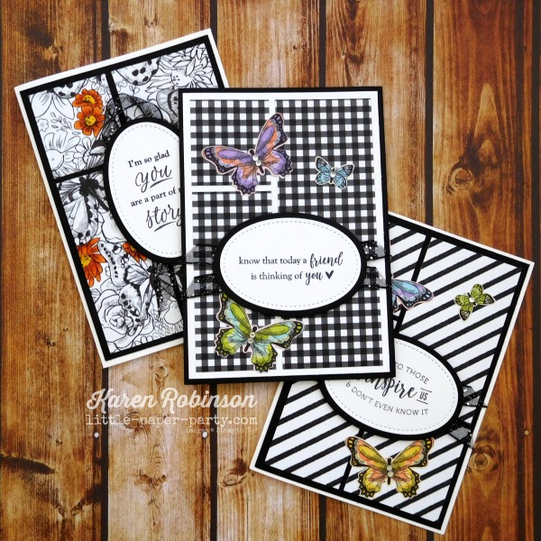 Little Paper Party, Part of My Story, Botanical Butterfly DSP, 4