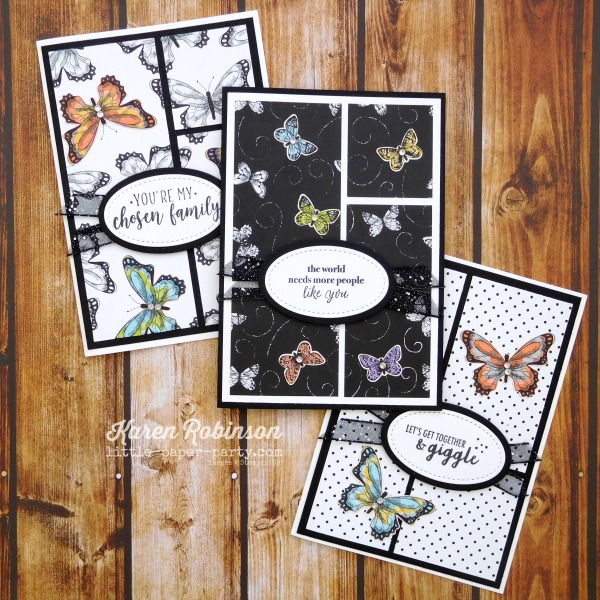 Little Paper Party, Part of My Story, Botanical Butterfly DSP, 6
