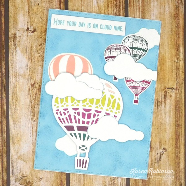 Little Paper Party, 2017-19 In Colors, Up & Away, Lift Me Up 1