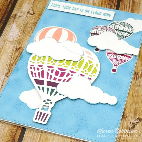 Little Paper Party, 2017-19 In Colors, Up & Away, Lift Me Up 3