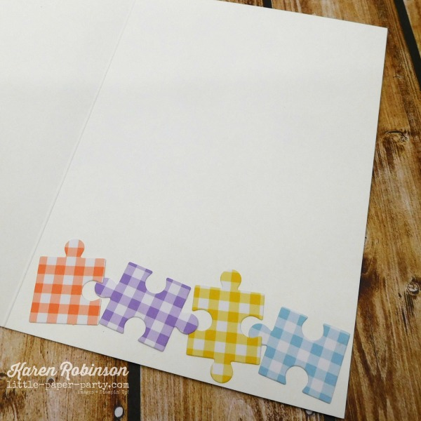 Little Paper Party, Love You to Pieces Bundle, Gingham Gala DSP 5