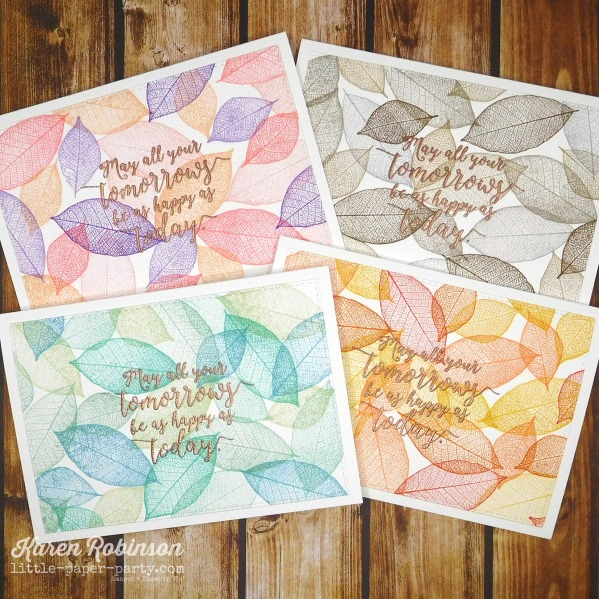 Little Paper Party, Rooted In Nature, Colorful Seasons 1