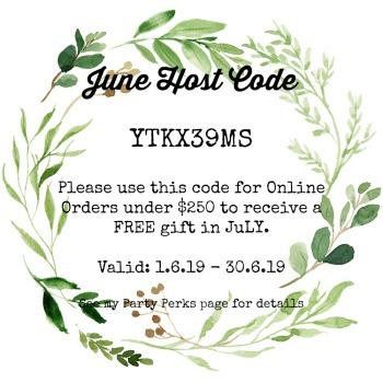 Host Code June 2019