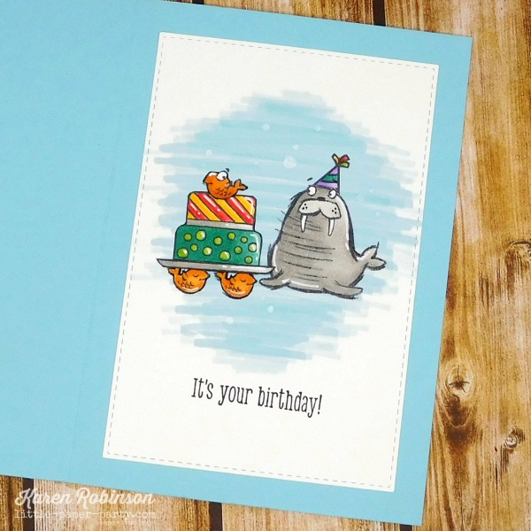 Little Paper Party, We'll Walrus Be Friends, Piece of Cake, 3