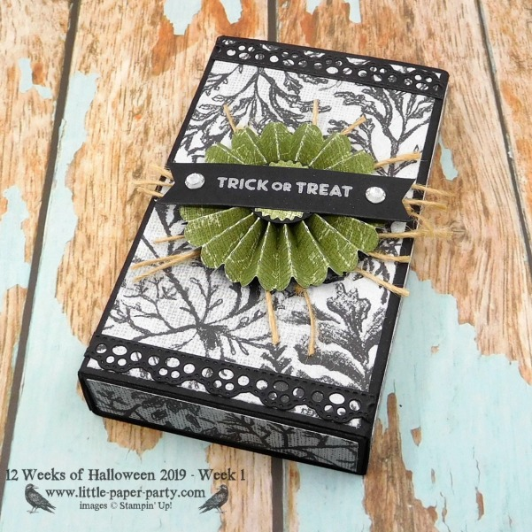Little Paper Party, 12 Weeks of Halloween 2019 - Week One 1