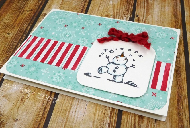 Little Paper Party, #simplestamping, Snowman Season, 2