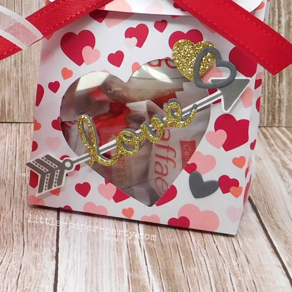 Little Paper Party, From My Heart DSP, Well Written Dies, Valentine's Day, 4