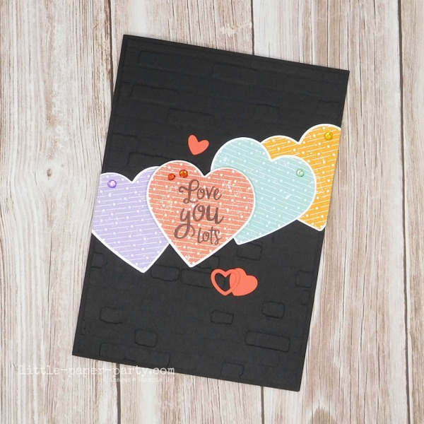 Little Paper Party, Heartfelt, Pleased As Punch DSP, Valentine's Day, 1