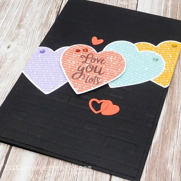 Little Paper Party, Heartfelt, Pleased As Punch DSP, Valentine's Day, 2
