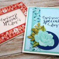 In the Spotlight - Kerchief Card Kit