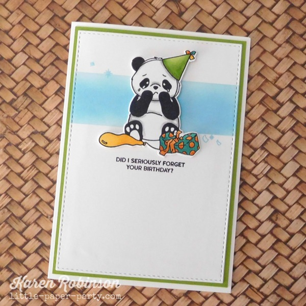 Little Paper Party, Party Like A Panda - SSS, AAA Cards #156, 1.jpg