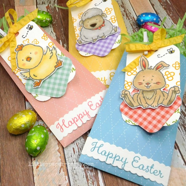 Little Paper Party, Bunny Hop 2020, Mini Treat Bag, Welcome Easter, 3