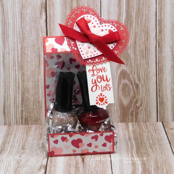 Little Paper Party, From My Heart Suite, Cello Bags, Valentine's Day, 1