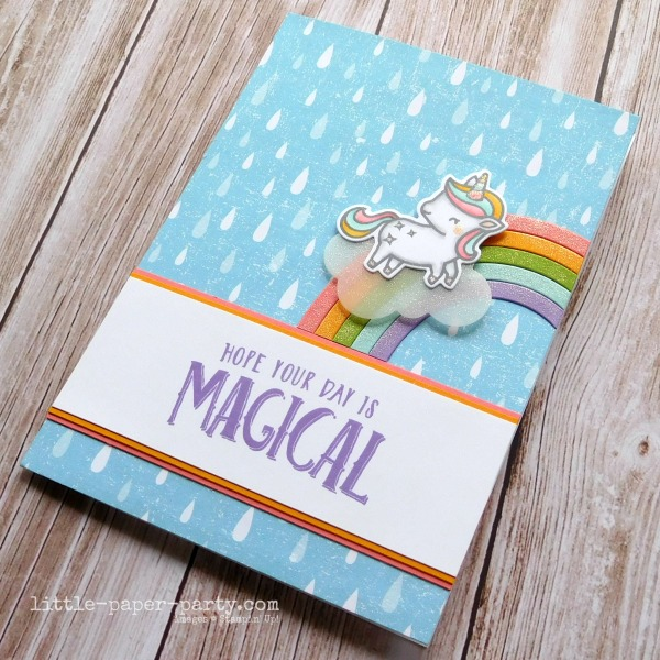 Little Paper Party, CTS#362, A Little Sparkle, Magical Day, 2
