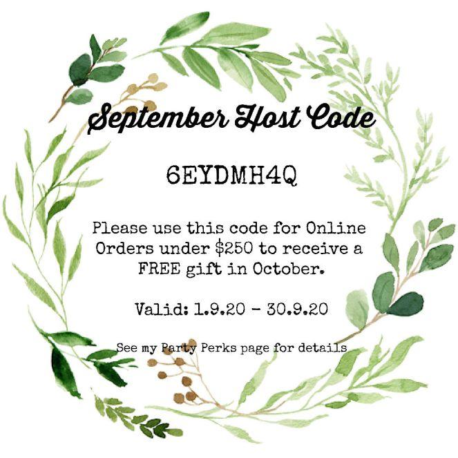 Host Code September 2020