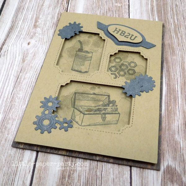 Little Paper Party, Geared Up Garage, Peek-a-Hoot Dies, 2